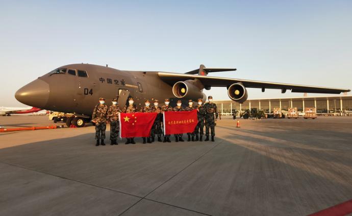 國防部證實:國產大型軍用運輸機運-20首次出國執行任務