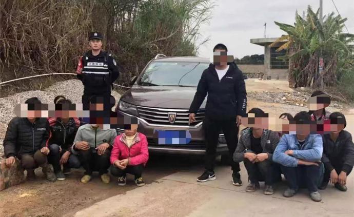 疫情期間運送11人非法入境,廣西崇左邊境首起偷渡刑案宣判