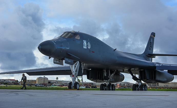 美軍在關島部署四架B-1轟炸機:開展訓練和戰略威懾任務