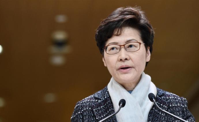 """林鄭月娥呼吁部分立法會議員回頭是岸:香港要""""向前走"""""""
