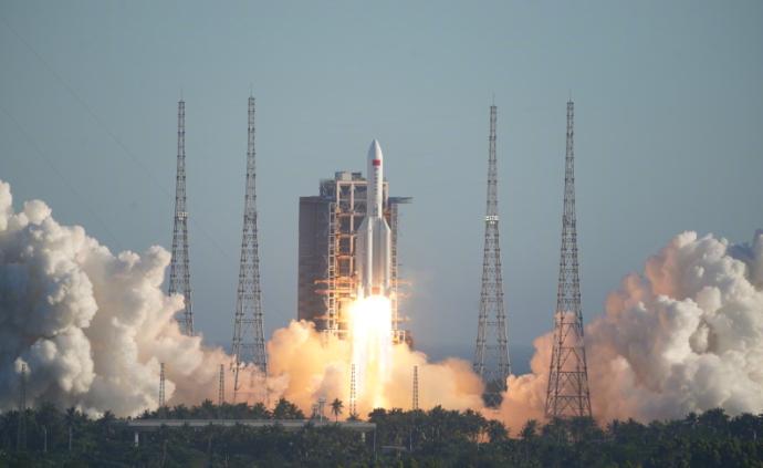 長征五號B運載火箭首飛成功,空間站建設拉開序幕