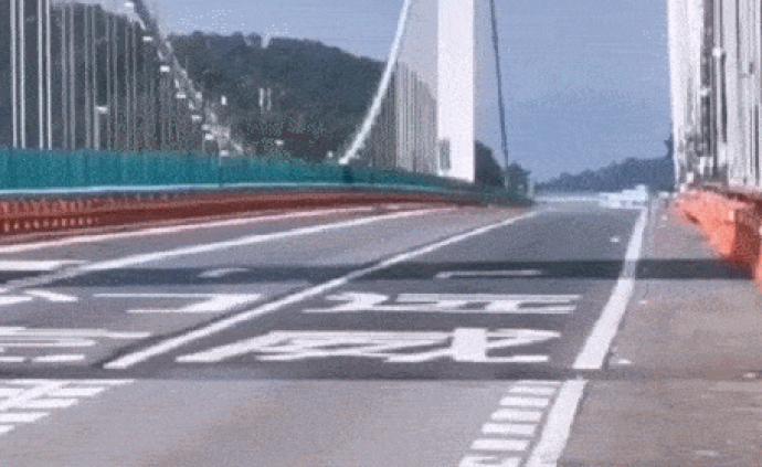 異?;蝿拥幕㈤T大橋怎么了:設計之初已充分考慮抗風因素