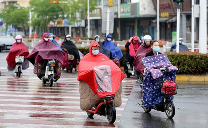 """""""五一""""假期結束大范圍降雨模式開啟,多地伴隨大風降溫"""