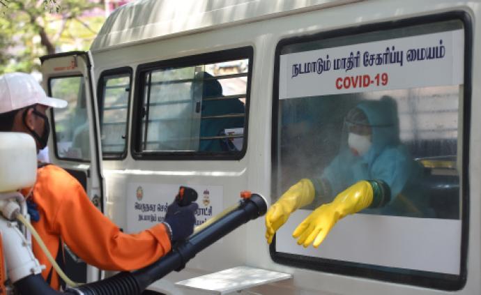 印度新增2958例新冠肺炎確診病例,累計近5萬例