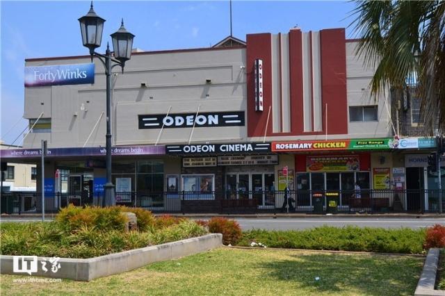 挪威首都奥斯陆最新、最大的电影院Odeon。
