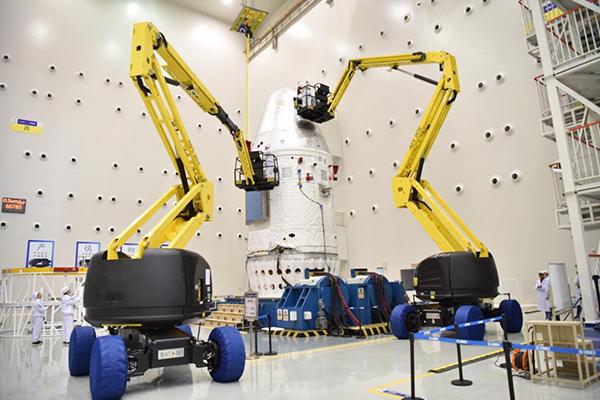测试中的新一代载人飞船