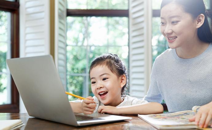 网课不只有鸡飞狗跳,陪读家长还能get新技能