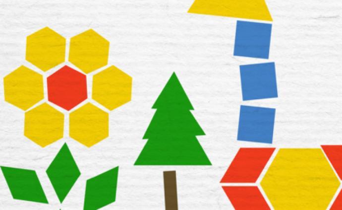 亲子学堂&艺术成长微课堂| 用拓印将不同的形状组合成作品