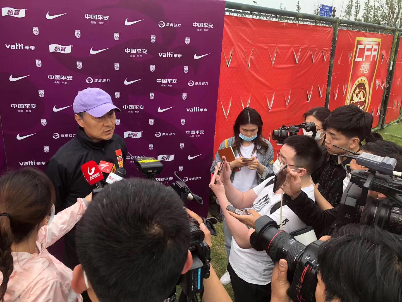 贾秀全:我带队两年中国女足进步大,未来安排和男足训练赛