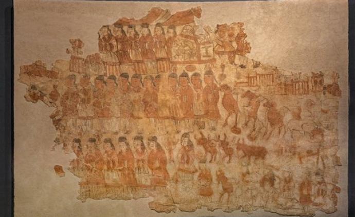 从壁画到人物俑,安徽博物院平城文物展勾勒北魏都城繁华往昔