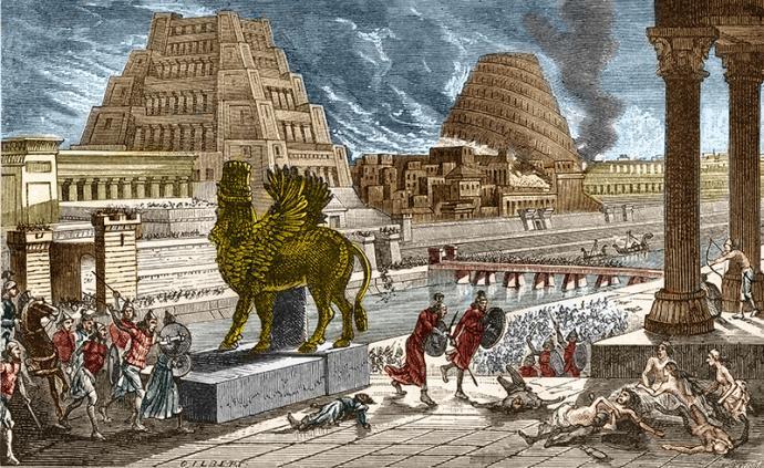 巴比倫的天文學對希臘神話的影響