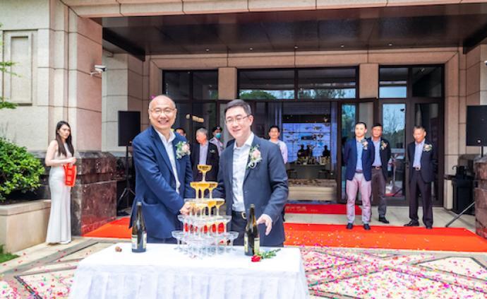 树立枫泾人居标杆,海玥瀜庭示范区正式开放