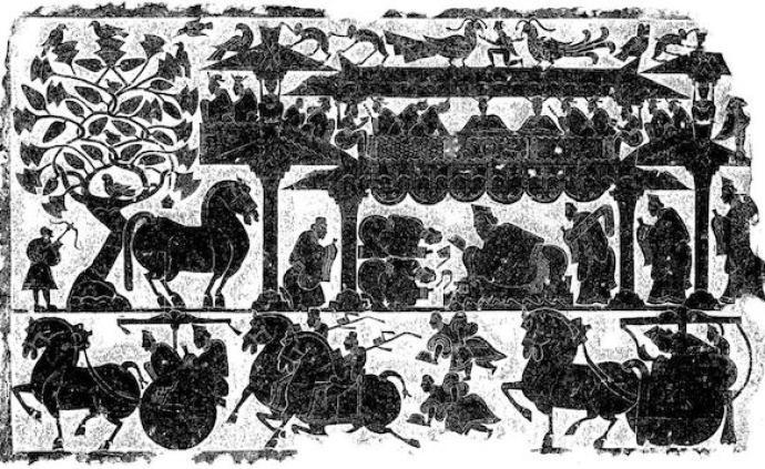 鉴赏|汉代画像石与画像砖:惟汉人石刻,气魄深沉雄大