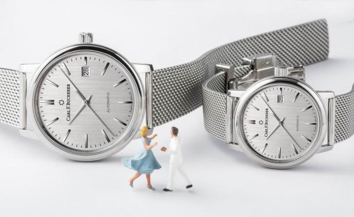 一對只對彼此存在的時計,是對無可替代的時間最好的注解