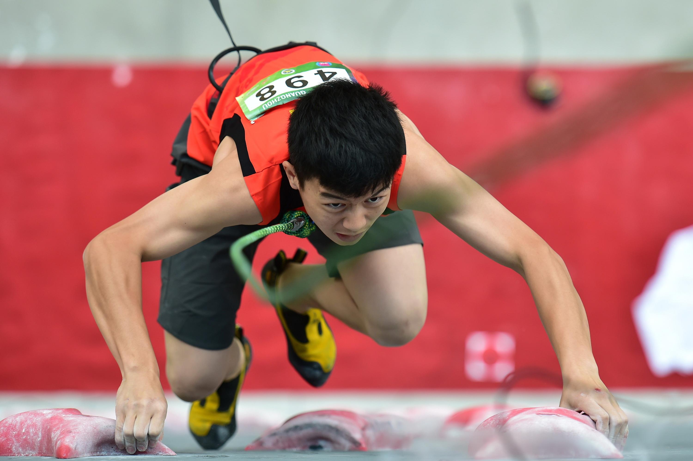 已经锁定东京奥运会参赛资格的潘愚非。