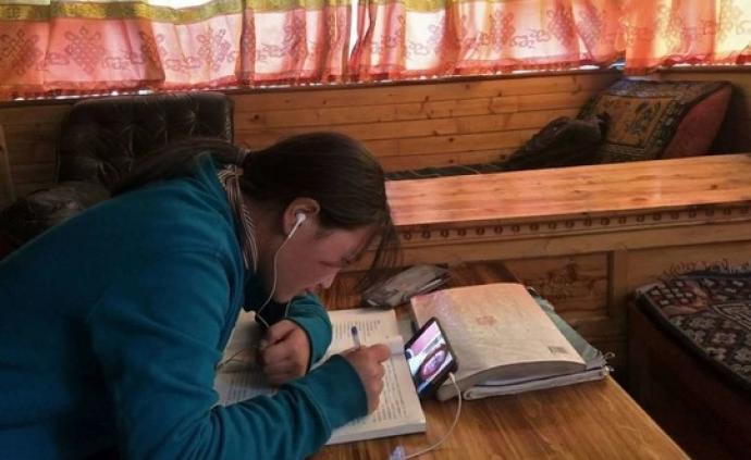 國研中心|中西部8省中小學在線學習調研看城鄉教育差距