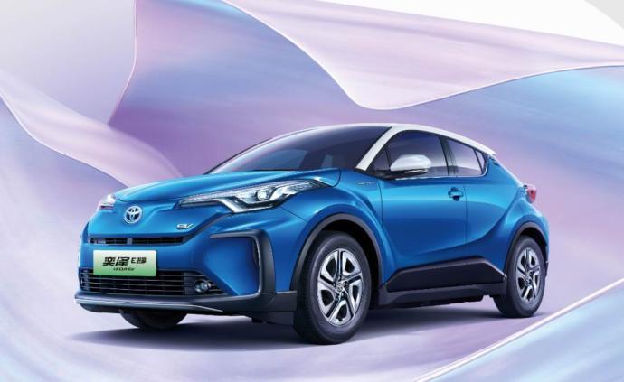 豐田在華首款純電動車上市,一汽豐田邁入電動新征程