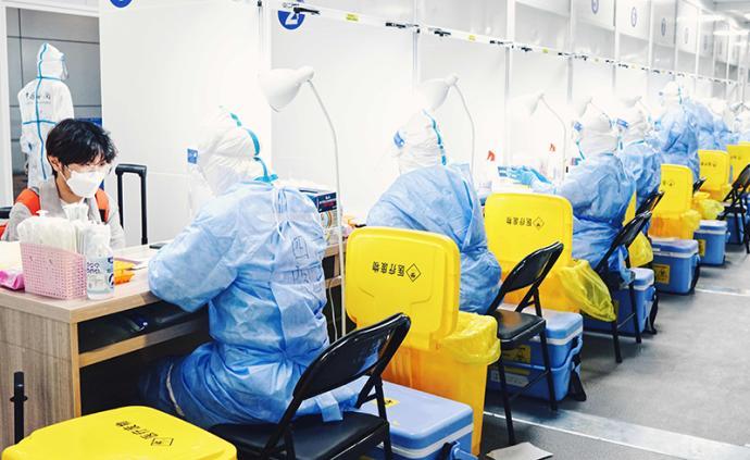 海关方舱采样室在浦东机场投用:可全天候为大客流检测核酸