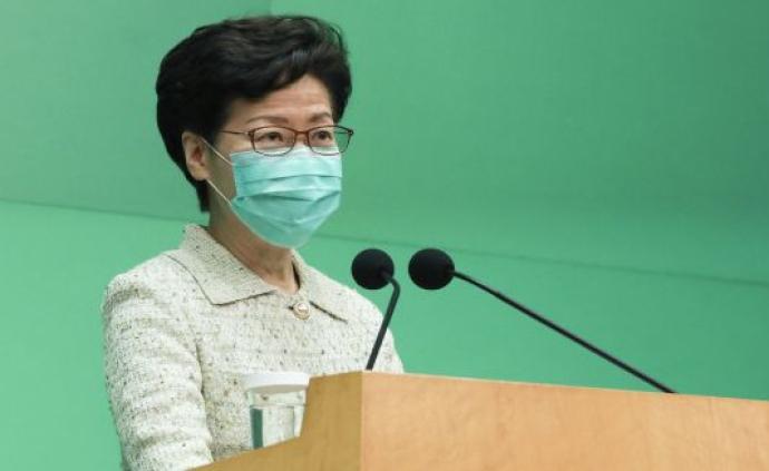 林鄭月娥:香港將擴大新冠病毒檢測量至每日7000個