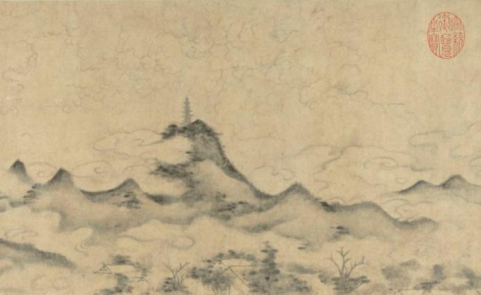 了廬|以有形筆墨表現山色空濛的無形——對米家點的思考