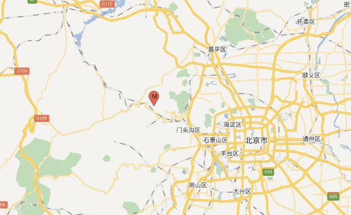 北京門頭溝區發生3.6級地震,震源深度18千米