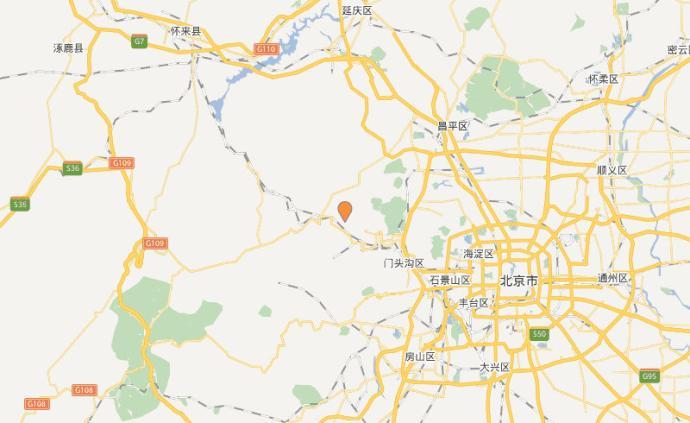 北京市地震局:門頭溝區近幾日發生更大地震可能性不大