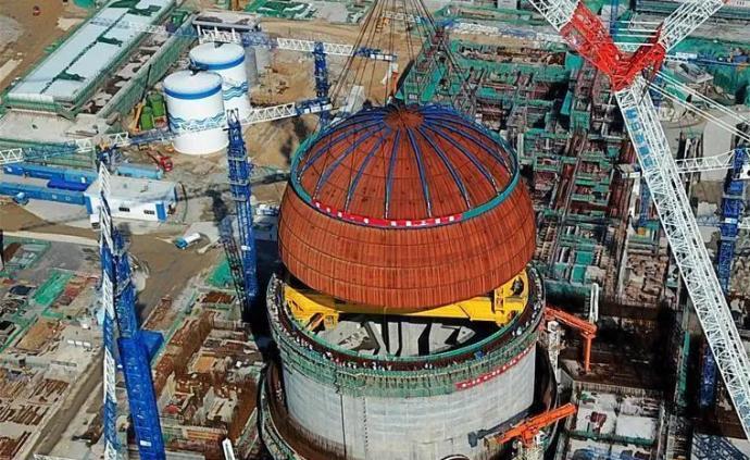 """华龙一号首堆年底投产,中国核电潜""""龙""""腾空"""
