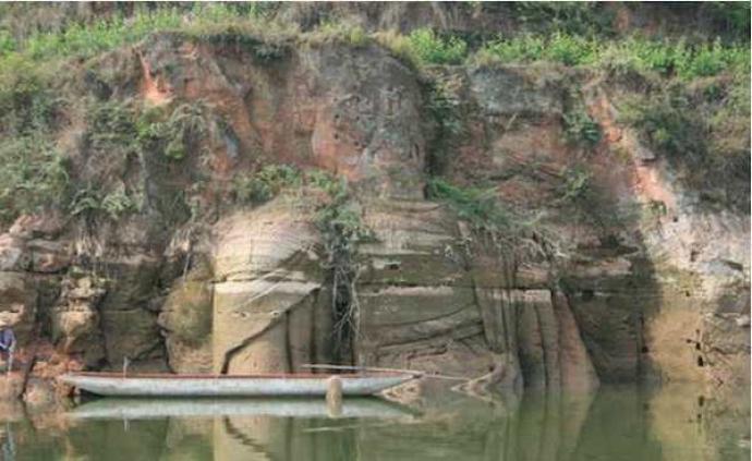 大型唐代坐佛被淹半世紀重露面,石窟專家吁勘察保護
