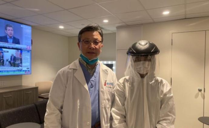華裔醫生做義工,在紐約全市多點做新冠病毒檢測