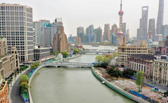 上海:苏州河两岸42公里滨水岸线争取年内基本贯通开放