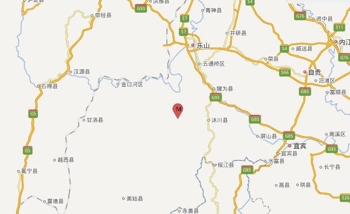 四川樂山馬邊縣發生3.8級地震:樂山震感強烈,成都有震感