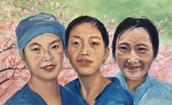 看展覽|抗擊疫情油畫展開幕:以手中畫筆致敬最美逆行者