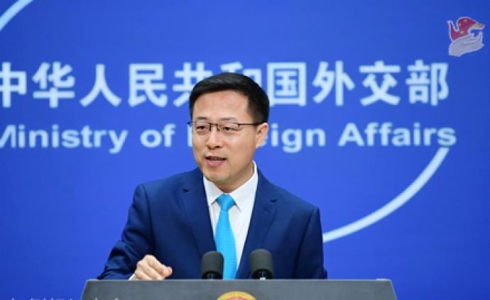 外交部回应特朗普涉香港问题表态:对错误行径将采取必要反制