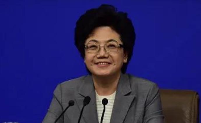 全国政协选出史上首位女性秘书长