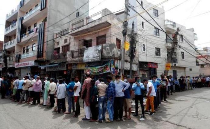 印度新增6566例新冠肺炎确诊病例,累计逾15.8万例