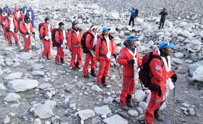 登峰测极|测量登山队勇士凯旋!