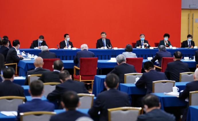 習近平總書記同出席全國兩會人大代表、政協委員共商國是紀實