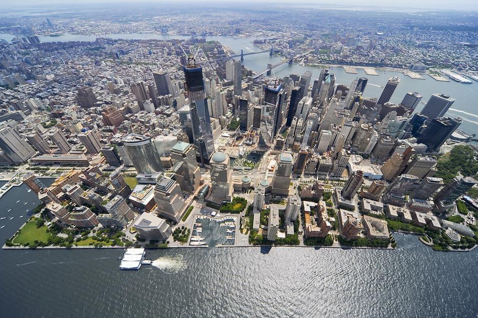 纽约曼哈顿炮台公园城。图片来源:www.perkinseastman.com