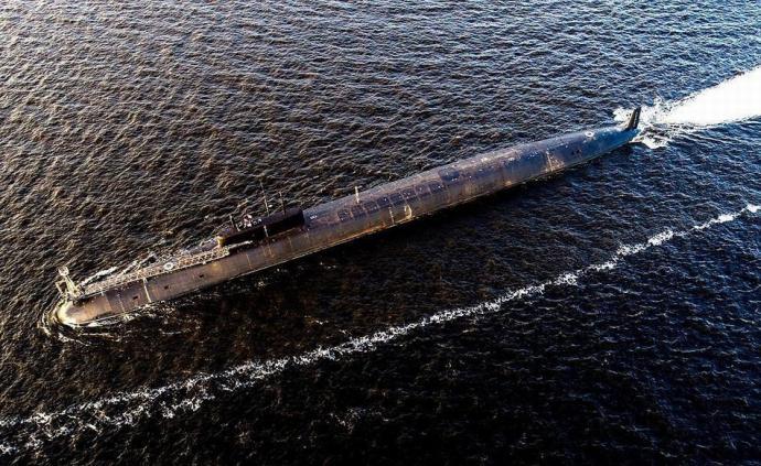 俄最新戰略核潛艇交付海軍,最多可載160個核彈頭