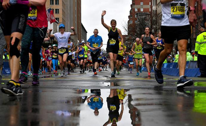 波士顿马拉松124年首次取消,面对恐袭爆炸他们也不曾止步