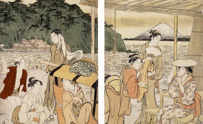 """浮世繪里的江戶""""穿越"""":兩碗拉面買一張葛飾北齋……"""