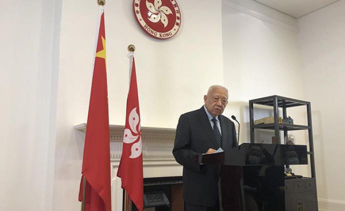 全國政協副主席董建華:維護國家安全就是維護香港的安全