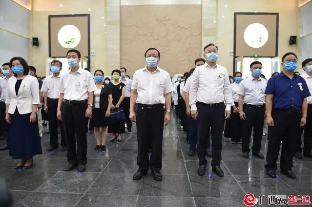 梁小霞告别仪式在南宁举行,武汉协和医院有代表专程赶来