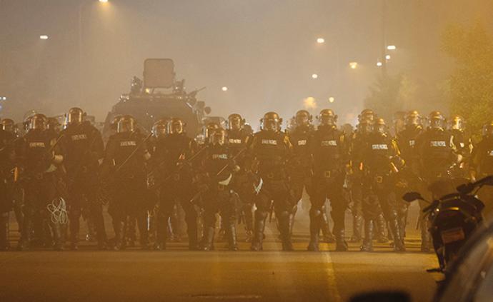 全美已有20多個州共30多城爆發示威活動,多城實施宵禁