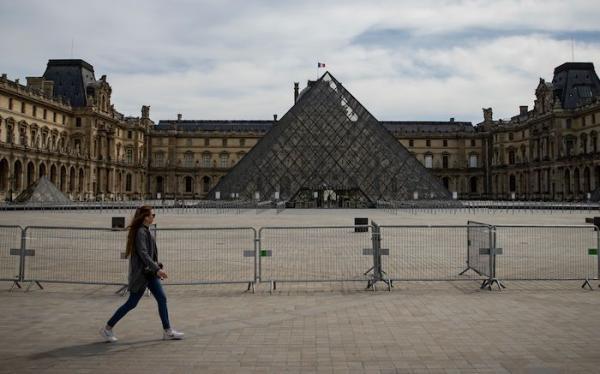 法国卢浮宫7月6日重开,馆长预计参观人数将下降七成