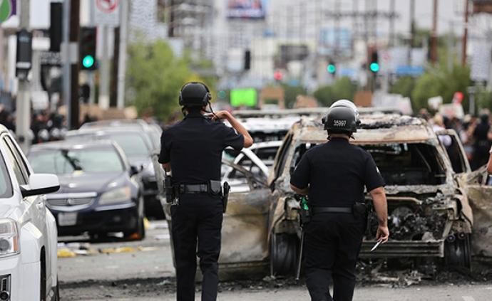 抗議示威活動頻發,駐洛杉磯總領館提醒中國公民注意安全