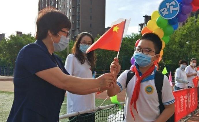 北京45萬中小學生復學,有學校增加了體育課、減少了音樂課