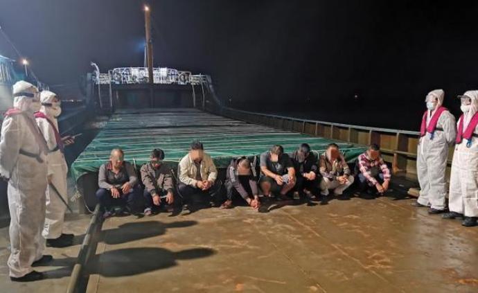 上海海警局查获海上走私成品油1600吨,案值800万元