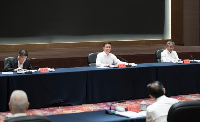韓正:扎實穩妥推進海南自由貿易港建設