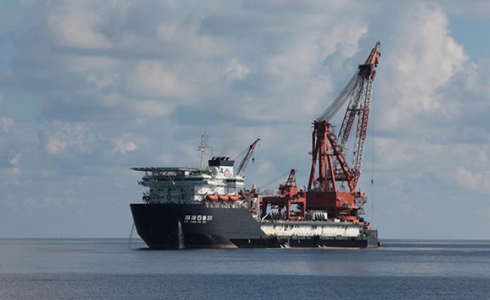 水深1542米!我国海底管线铺设再创新纪录